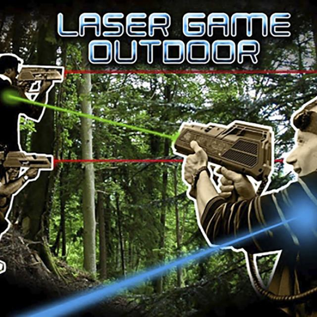 Laser game outdoor