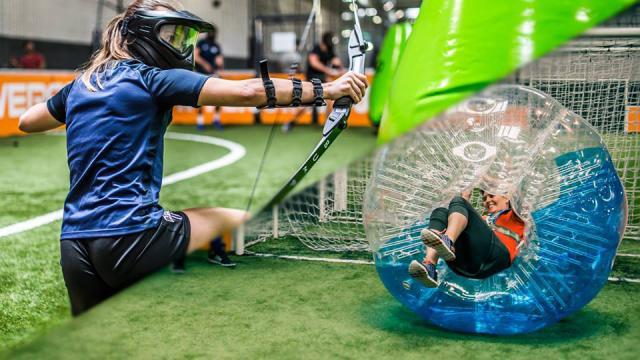 Archery Et Bubble Bump