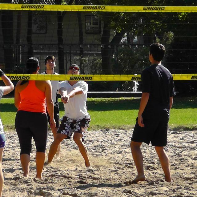 Beach Volley à la base de Loisirs