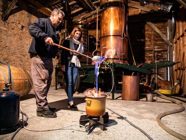 Alambic servant à la confection de l'armagnac