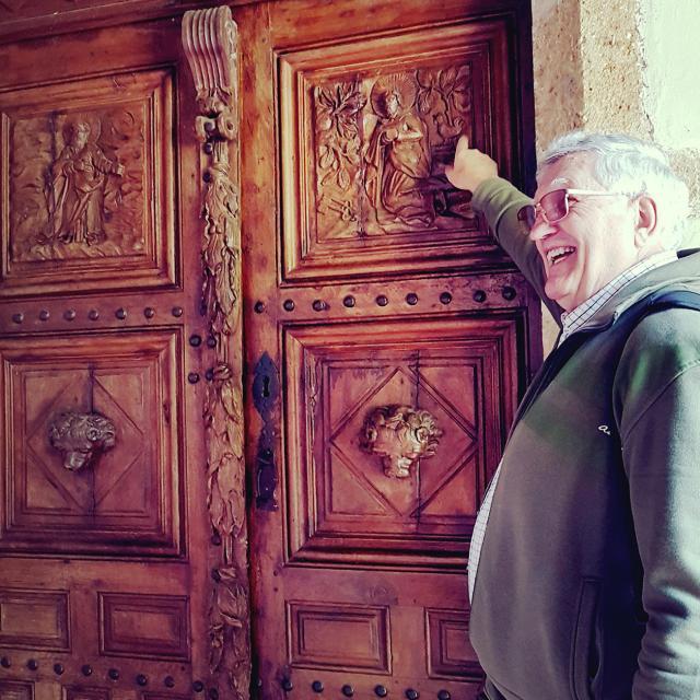 Franck, Greeter à Saint Pierre du Mont