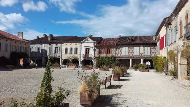 Labastide d'Armagnac, place Royale