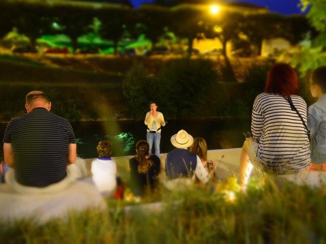 Visite guidée nocturne autour des rivières