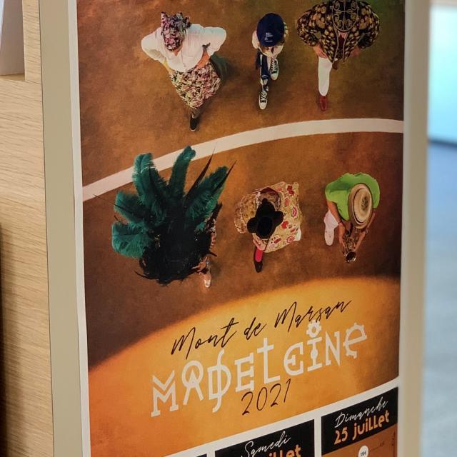 Affiche Madeleine 2021