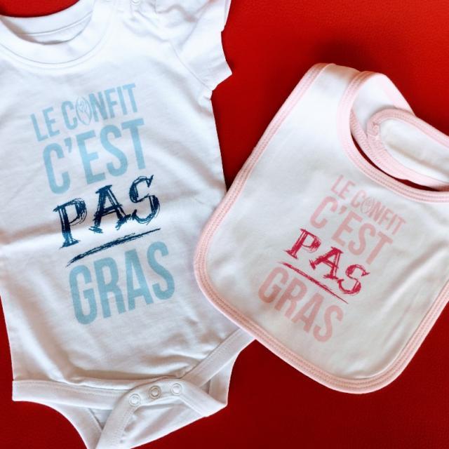 Body Bavoir Le Confit C'est Pas Gras