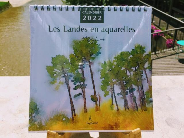 Calendrier 2022 Aquarelles