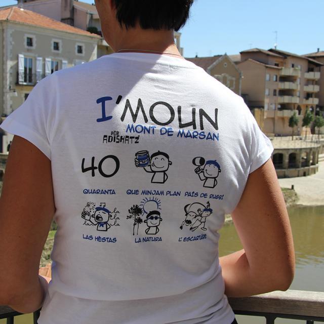 Tee Shirt I'moun ©ot