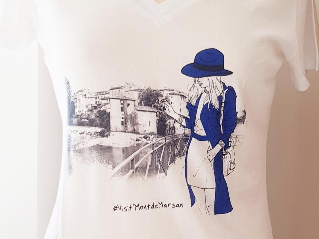Tee Shirt Mont De Marsan
