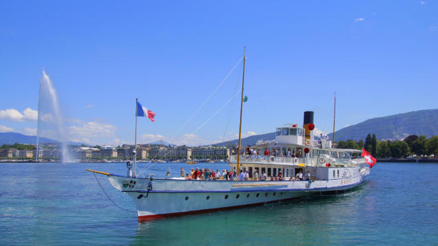 CGN, Schifffahrt auf dem Genfer See