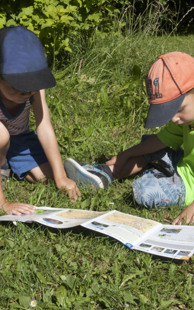 Kinderaktivität in der Natur