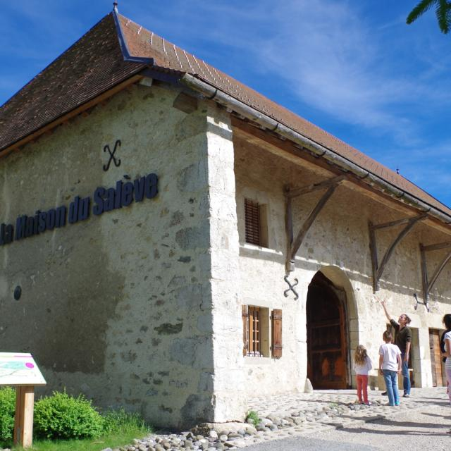 Interpretive Center, La Maison du saleve