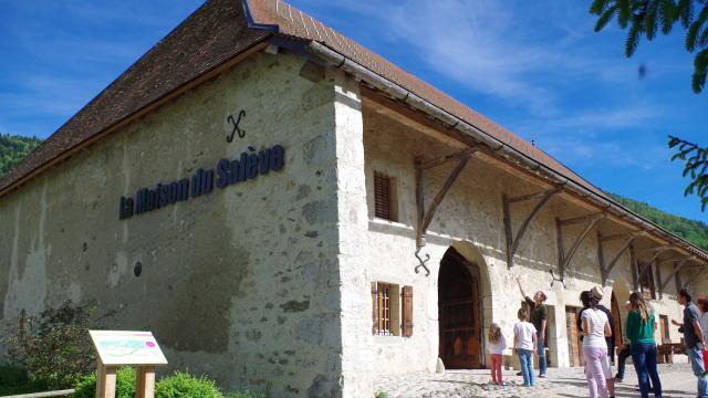 Centre d'interprétation, La Maison du saleve