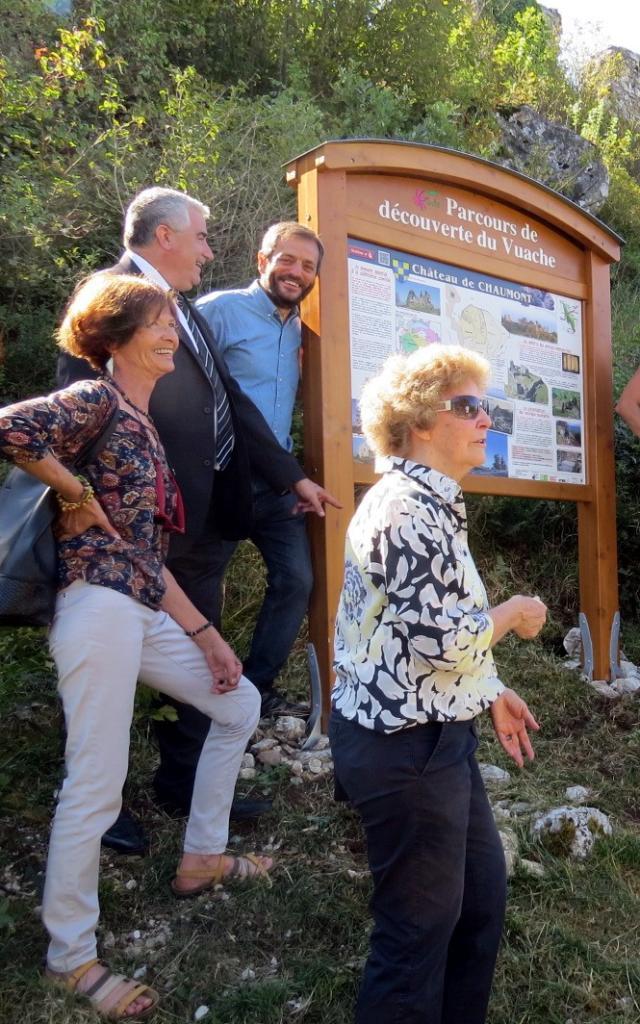 Inauguration Parcours De Découverte Du Vuache