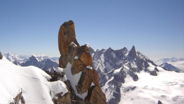 Aiguille du Midi à Chamonix