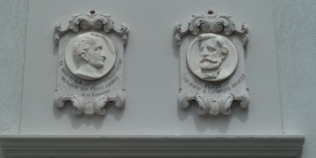 Plaque église de Collonges-sous-Salève