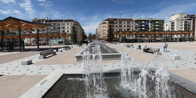 Place de la Libération. Photo Lucien Fortunati