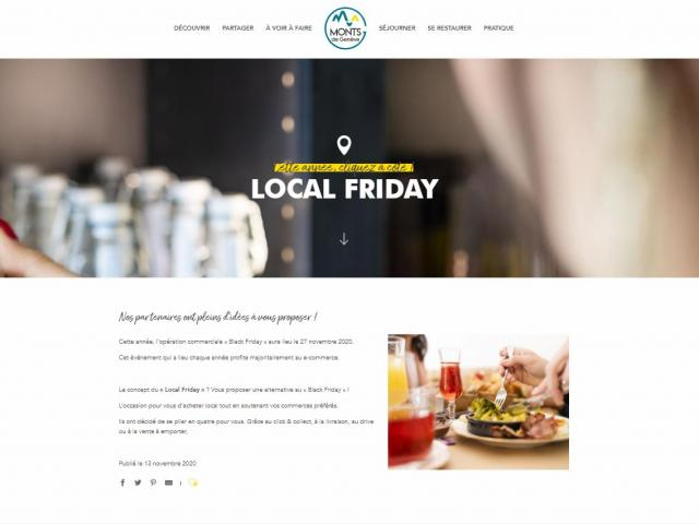 Page Local Friday