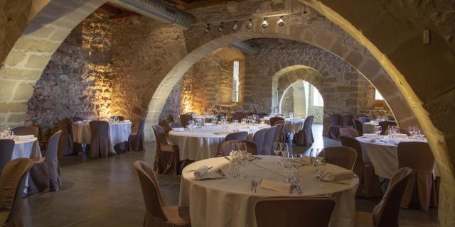 Les caves voutées de la Chartreuse de Pomier