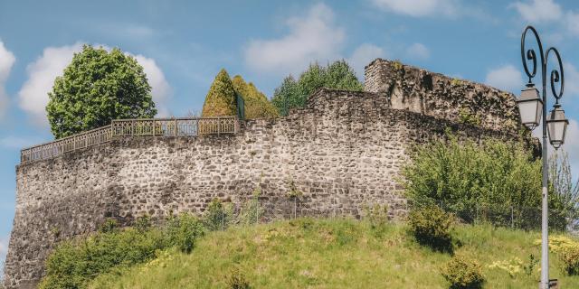 Les remparts de Haute-Bonne