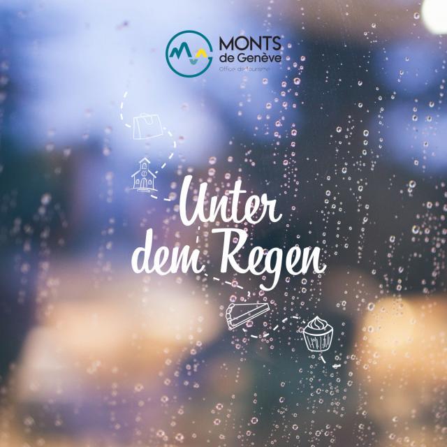 Unter dem Regen