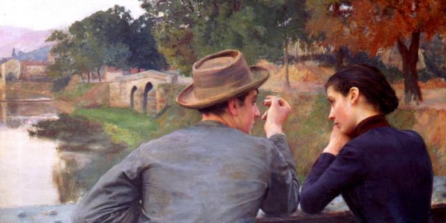 Les Amoureux - Musée des Beaux Arts