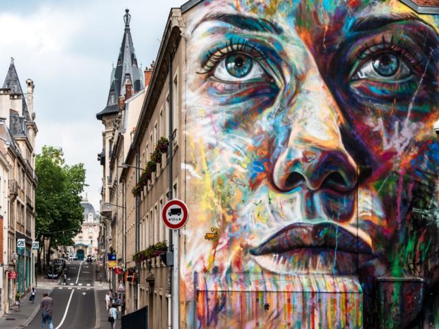 Art dans Nancy - David Walker Giulia