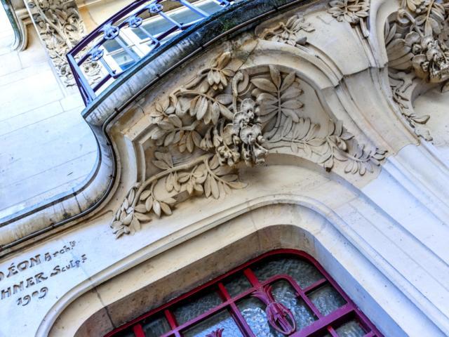 Art Nouveau Avenue Anatole France - Maison Déon
