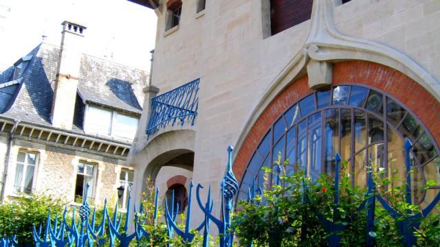 Art Nouveau - Les Glycines