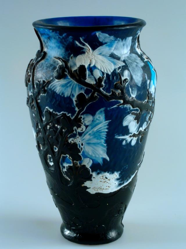 Gallé, Vase Nuit Japonaise