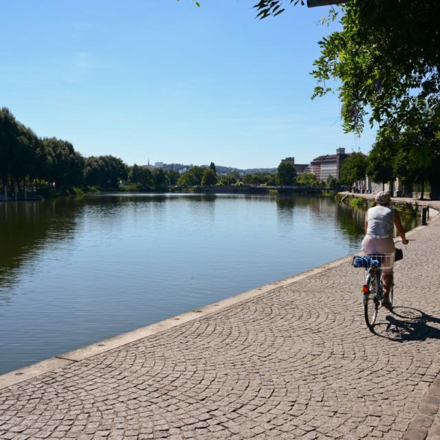 Bords de Meurthe à vélo