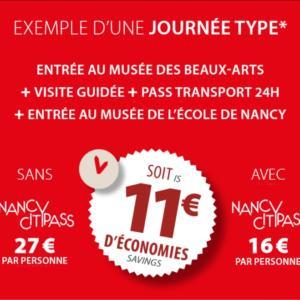 Journée Type Nancycitypass