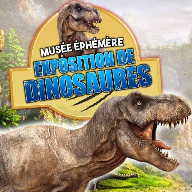 Expositions Dinosaures Nancy
