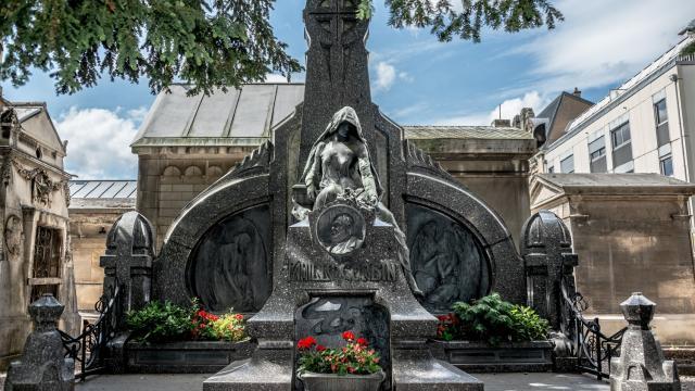Monument Corbin Cimetiere De Preville