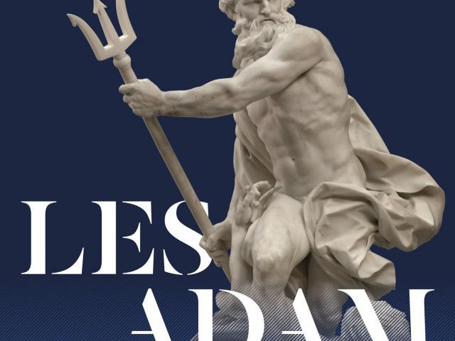 Affiche exposition Les Adam La Sculpture En Héritage