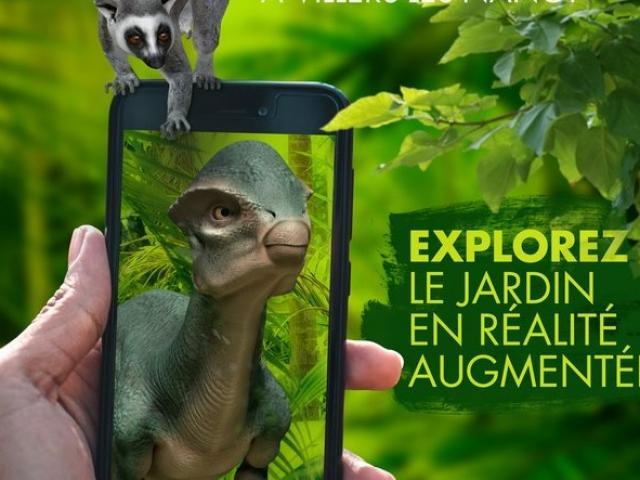 Application de Réalité Virtuelle pour découvrir le jardin botanique