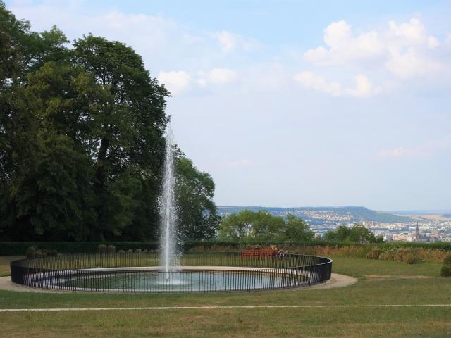 jet d'eau du Parc De Brabois