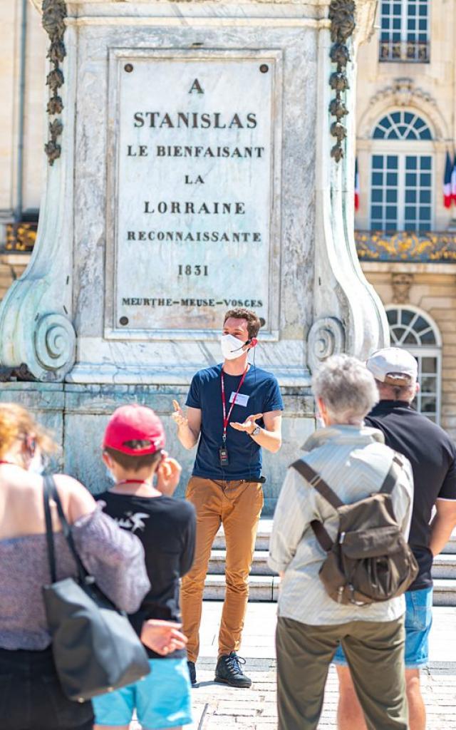 Visite guidée Destination Nancy