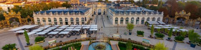 Jardin Ephemere Vu Du Ciel Visit Nancy 360