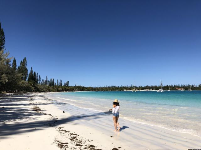 Promenade en baie de Kanuméra - île des pins