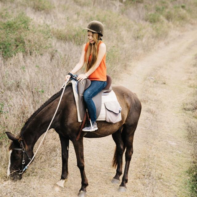 Balade à cheval - Bourail