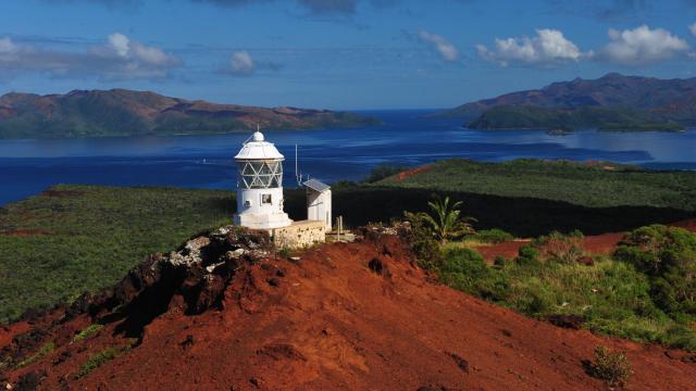 Vue sur le Cap N'dua - Yaté Grand Sud