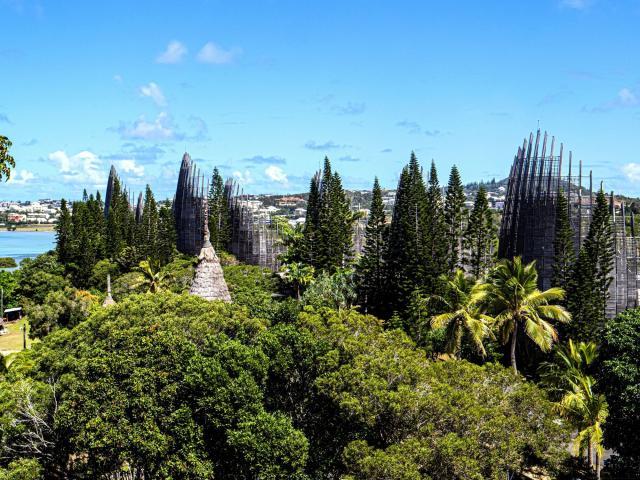 Le Centre Culturel Tjiabou - Nouméa