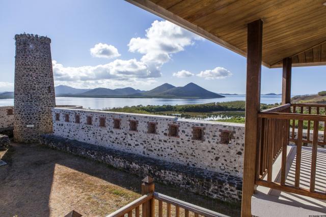 Vue du Fort Teremba - Moindou - Nouvelle-Calédonie