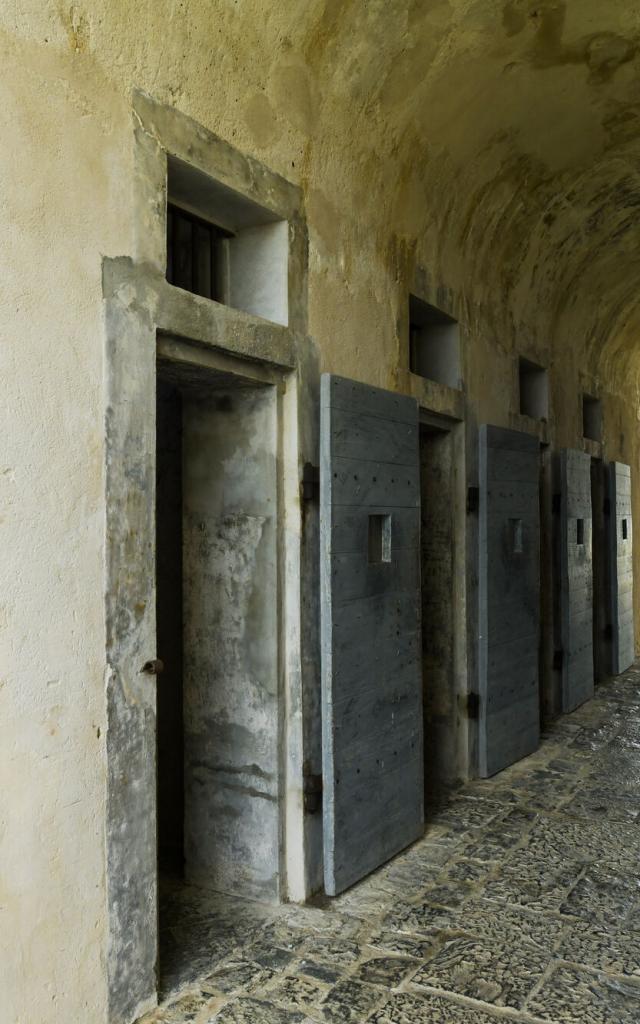 Cellules Fort Teremba - Moindou - Nouvelle-Calédonie