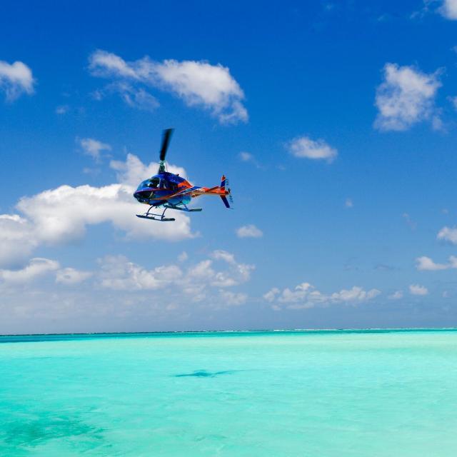 Hélicoptère - Ile des Pins