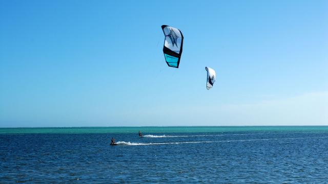 Kitesurf à Poé - Bourail