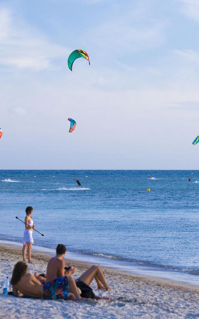 Kitesurf plage Méridien