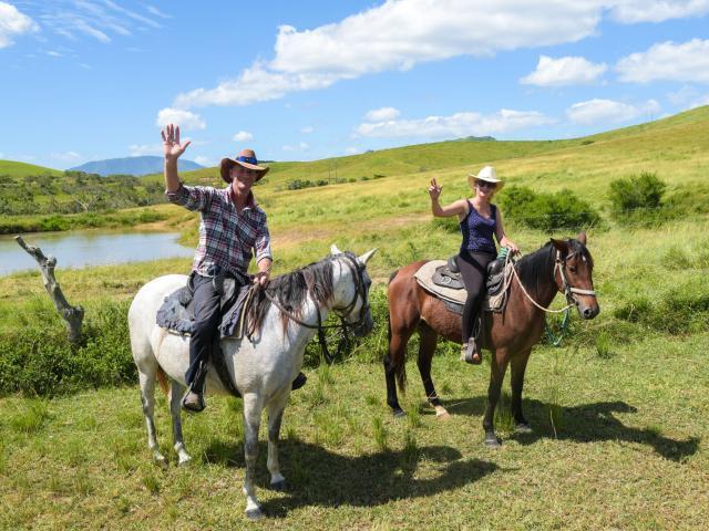 Rando cheval - La Foa