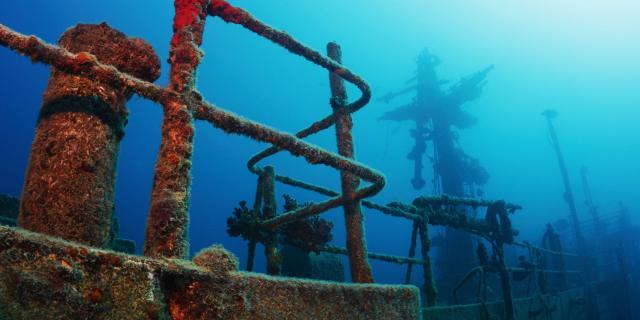 Épave plongée sous marine - Nouméa