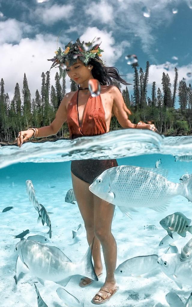 Piscine Naturelle - Baie d'Oro - île des Pins